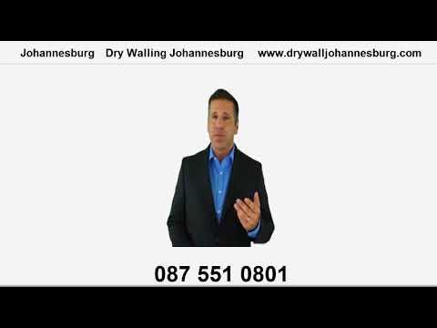 Dry Wall Johannesburg Company Video