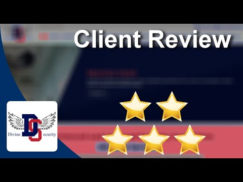Divine Security LONDON Superb Five Star Review by Tania B