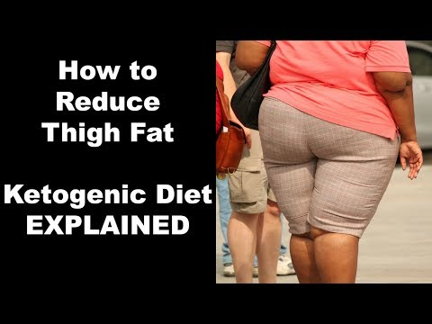 How to Reduce Thigh Fat with the Ketogenic Diet