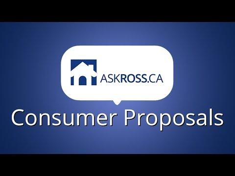 Consumer Proposals 2