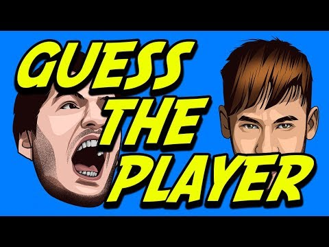 Try to guess the soccer player by their caricature (World Cup Russia 2018)