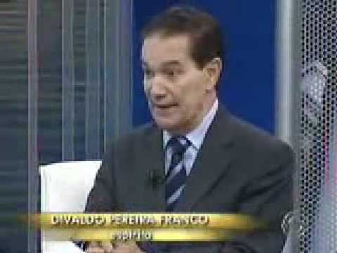 Divaldo Pereira no programa JA