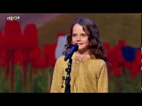 Holland's Got Talent - Amira (9) sings opera O Mio Babbino Caro - Full version