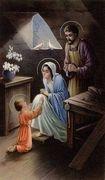 Le visioni della Sacra Famiglia