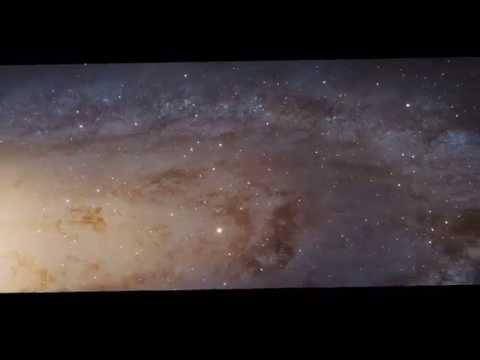 Vídeo sobre a imensidão do Universo : Gigapixels de Andrômeda [4K]