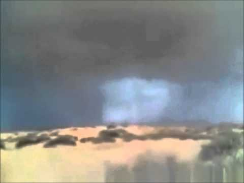 Você viu o rosto de Jesus que aparece nas nuvens durante essa filmagem ?