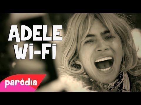 """QUAL É A SENHA DO WIFI - Paródia Adele - Música """"Hello"""""""