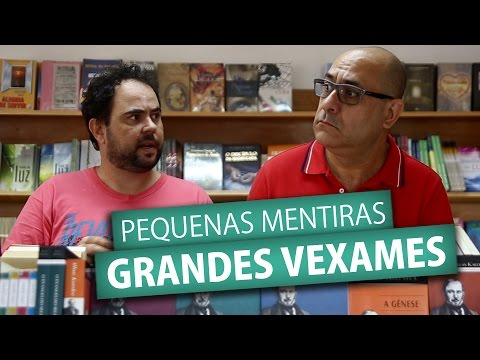 PEQUENAS MENTIRAS GRANDES VEXAMES (Humor e Espiritismo)
