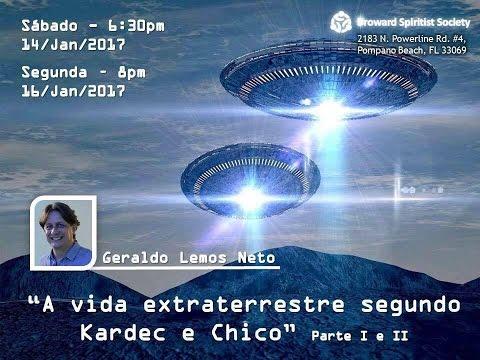 VÍDEO-MENSAGEM: a Vida EXTRATERRESTRE, segundo Kardec e Chico Xavier