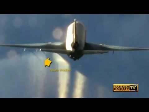 Chem-trail Spray Jet (KC-10) Caught Red Handed by AF  Pilots