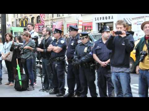 #OccupyWallStreet (Day 6) - September 22, 2011