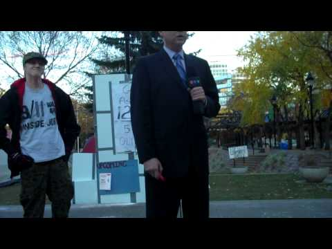 Occupy Calgary - CTV Coverage - 9/11 Was an Inside Job