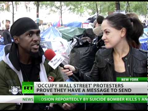 OWS wants Wall Street to hit 'Share' button