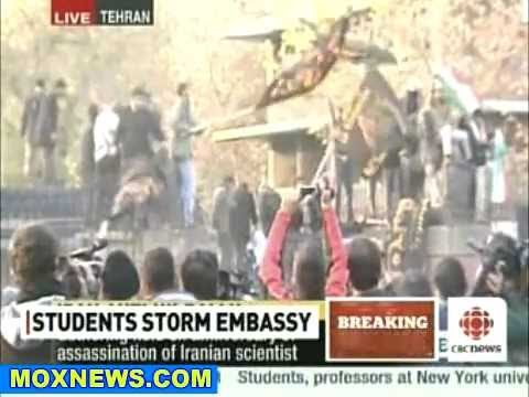 Students Storm British Embassy In Iran! Reports Of Hostages Taken