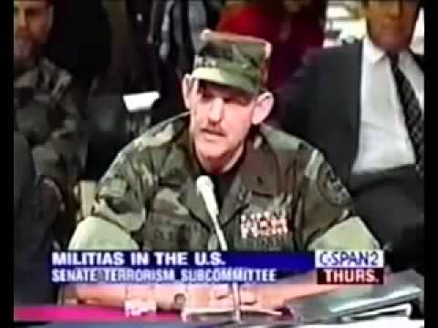 American Militia Commander Tells Congress They Are Running Out Of Time
