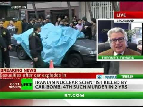 'Iran anxious to retaliate US & Israel for killing nuclear scientist'