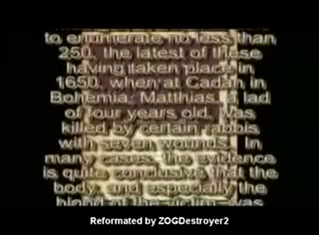 Synagogue of Satan ritual murder kabbalah Talmud IMF Grove abduction 3_6 - YouTube