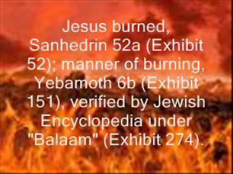 Talmud Teachings on Jesus part 1
