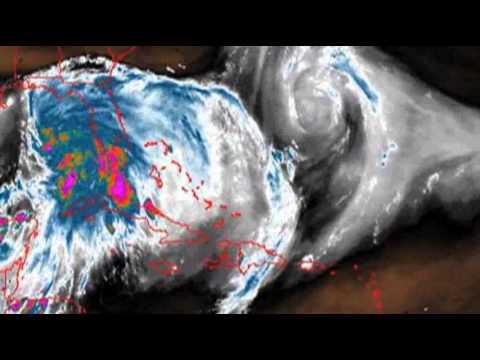 Tropical Storm Prompts Oil Platform Evacs
