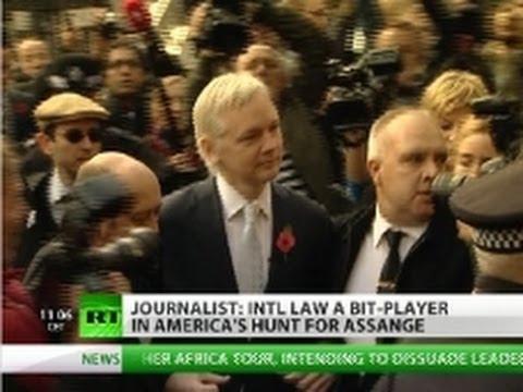 'Hunt for Assange on, Sweden a tool of US'