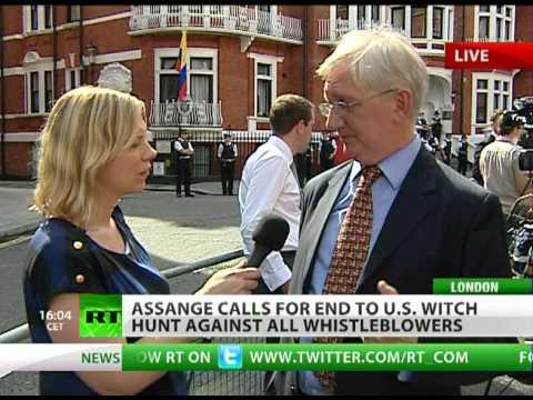 Assange Standoff: Hands off Ecuador!