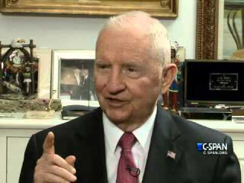 Ross Perot Warns A Financially Weak US Could Be Taken Over