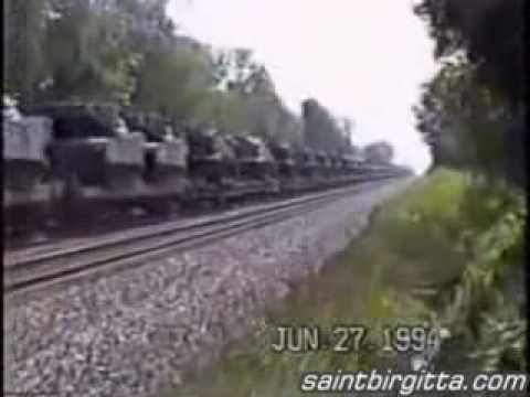 U.N troops in America doing Martial Law drills.