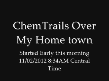 Chemtrail  Education 101 Video
