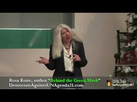 Behind the Green Mask - Rosa Koire