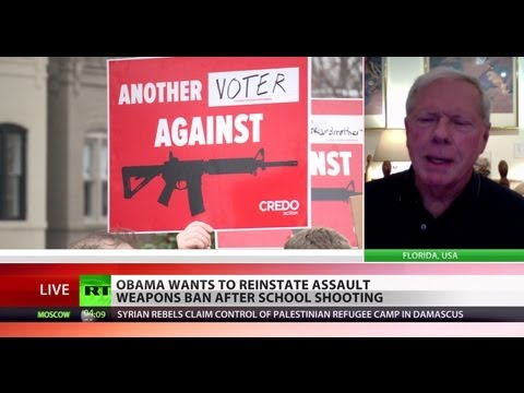Going After Guns: 'You can't have police state & armed population'