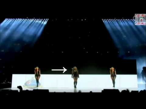 Beyonce's Super Bowl XLVII Half Time Show Illuminati Occult Symbolism (2013)