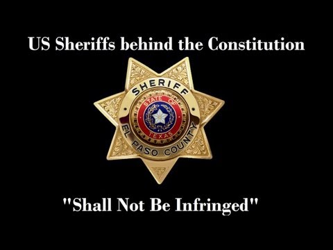 """""""Shall Not Be Infringed"""" Constitutional Sheriffs That Are Standing With Us (updated)"""