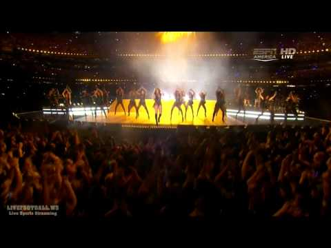 Beyonce Full Show @ Super Bowl 2013  [HD]