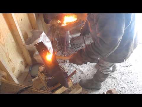 Blacksmithing Part 27 Making a Fire Poker