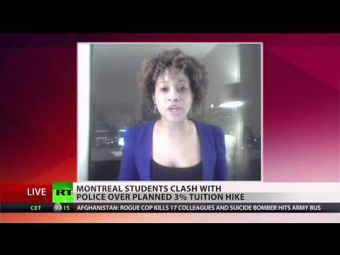 Montreal students clash with police over tuition fee hikes