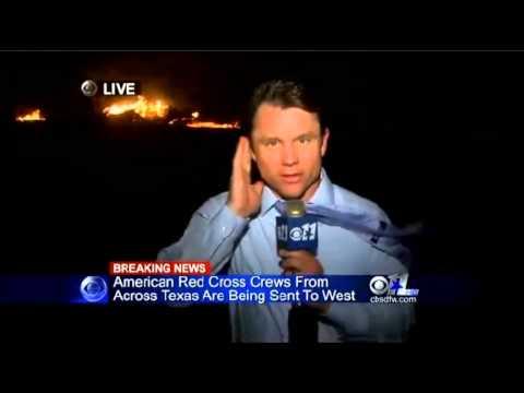 Fertilizer Plant Explosion In West, Texas, North of Waco