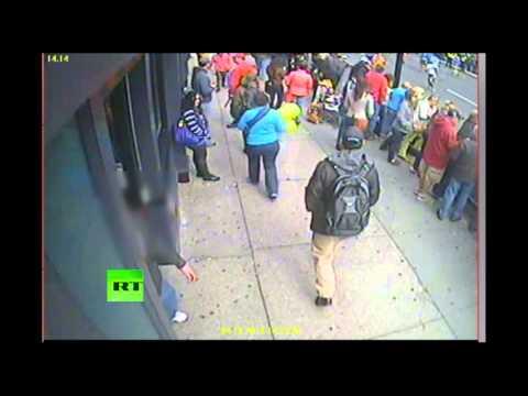 FBI video of Boston Marathon bombing suspects