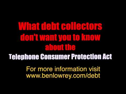 Are debt collectors calling your cell phone? Check this out! www.benlowrey.com/debt