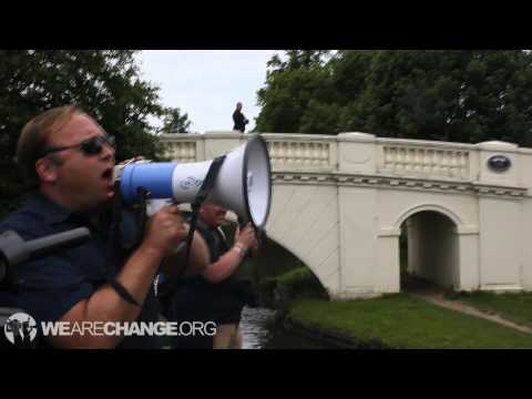 WeAreChange Vlog #5: Alex Jones Bilderberg Boat Ride, David Icke & Forward Intelligence Team