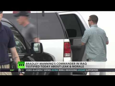 Manning's commander testifies at WikiLeaks' source's trial