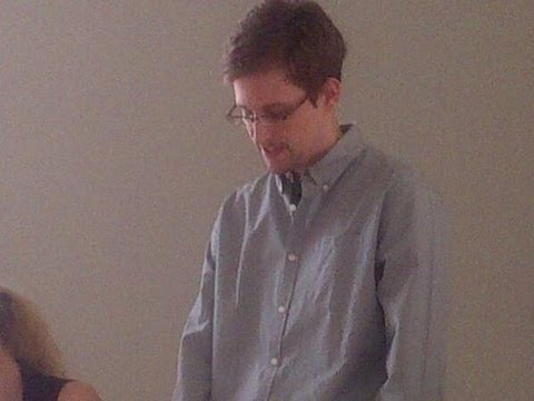 Snowden caught on camera: No state has basis to limit my asylum
