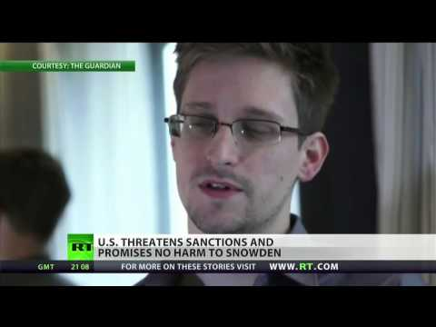 US threatens sanctions on countries who aid Snowden