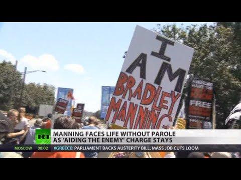Criticizing military = Aiding the enemy? Manning charge upheld