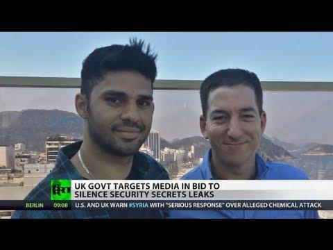 Gagging Guardian: UK govt threatens newspaper over Snowden's leaks