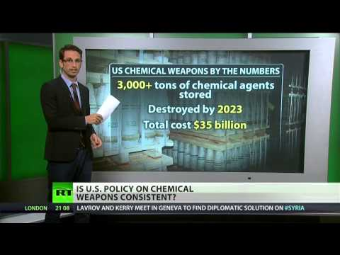 The U.S. and its Chemical Weapons Story