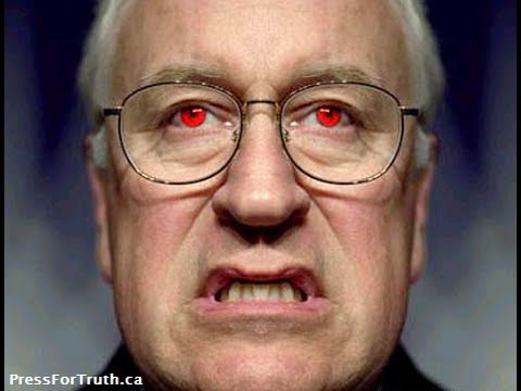 """Dick Cheney In Toronto - """"The Blood Is On Your Hands"""""""