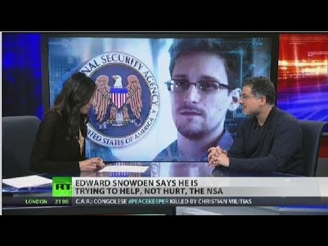 Snowden hopes his revelations will change the world