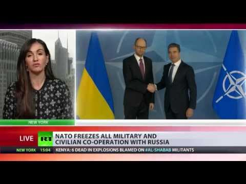 ALIENATO: Bloc freezes civilian & military cooperation with Russia