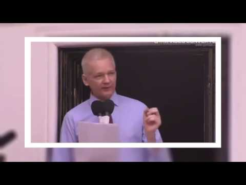 BREAKING: Julian Assange speech LIVE at Ecuadorian Embassy Oct 21 2016