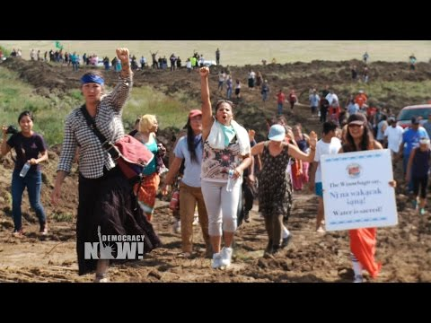 Dakota Access Pipeline Company Attacks Native American Protesters with Dogs & Pepper Spray